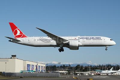 Turkish Airlines Boeing 787-9 Dreamliner TC-LLJ (msn 65810) PAE (Nick Dean). Image: 949153.