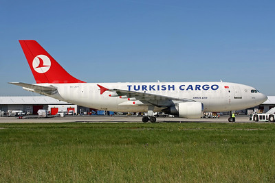 Turkish Cargo (Turkish Airlines) Airbus A310-304 (F) TC-JCV (msn 476) CDG (Christian Volpati). Image: 937729.