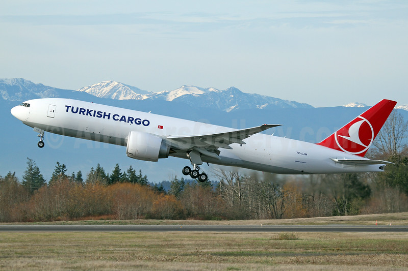 Turkish's second Boeing 777F, first flight on December 14, 2017