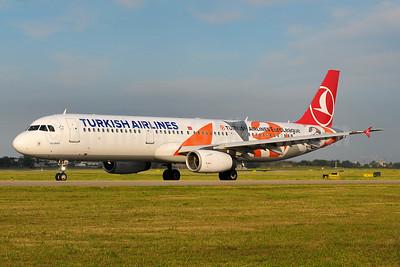 "Turkish Airlines' 2017 ""EuroLeague - Final Four"" logo jet"