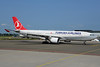 Turkish Airlines (Meridiana) Airbus A330-223 EI-EZL (msn 802) (Eurofly colors) AMS (Ton Jochems). Image: 912824.