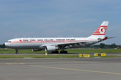 Turk Hava Yollari-THY-Turkish Airlines Airbus A330-203 TC-JNC (msn 742) AMS (Ton Jochems). Image: 932921.