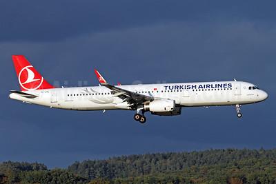 Turkish Airlines Airbus A321-231 WL TC-JTL (msn 7166) ZRH (Andi Hiltl). Image: 935145.