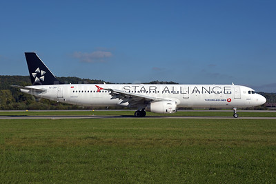 Turkish Airlines Airbus A321-231 TC-JRP (msn 4698) (Star Alliance) ZRH (Rolf Wallner). Image: 955476.