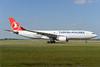 Turkish Airlines Airbus A330-223 TC-LNA (msn 874) AMS Ton Jochems). Image: 939963.