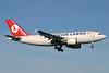 Turkish Cargo (Turkish Airlines) Airbus A310-304 (F) TC-JCT (msn 502) LGW (Antony J. Best). Image: 900792.