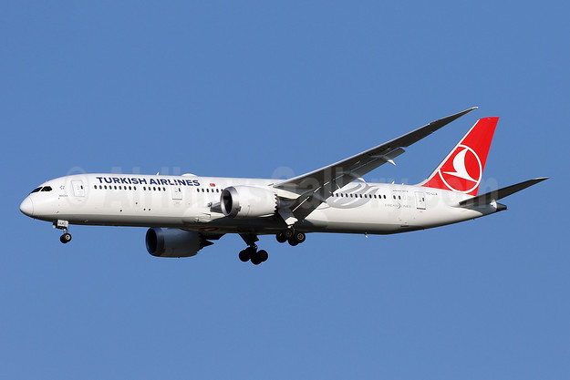 Turkish Airlines' first Boeing 787-9 Dreamliner
