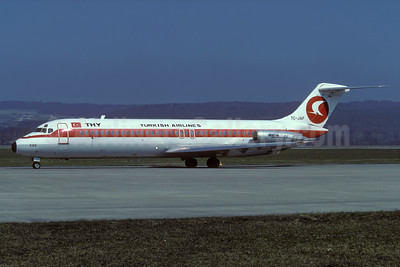 """Ege"", Turkish Airlines' 1980 experimental livery"