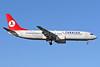 Turkish Airlines Boeing 737-8F2 TC-JGJ (msn 34408) STN (Keith Burton). Image: 900738.