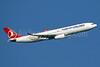 Turkish Airlines Airbus A330-343 TC-LOC (msn 1542) LHR (SPA). Image: 941039.