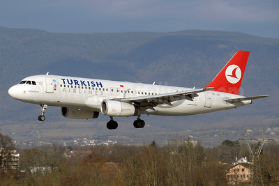 Turkish Airlines Airbus A320-232 TC-JPI (msn 3208) GVA (Paul Denton). Image: 937726.