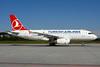 Turkish Airlines Airbus A319-132 TC-JLZ (msn 4790) ZRH (Rolf Wallner). Image: 913407.