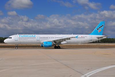 Turkuaz Airlines Airbus A321-211 TC-TCE (msn 666) AYT (Ton Jochems). Image: 903478.