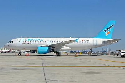 Turkuaz Airlines Airbus A320-214 TC-TCH (msn 2048) MIA (L. Apso). Image: 913494.