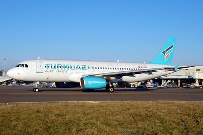 Turkuaz Airlines Airbus A320-232 TC-TCC (msn 3259) AMS (Ton Jochems). Image: 913493.