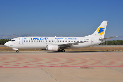 AeroSvit Ukrainian Airlines Boeing 737-4Y0 UR-VVN (msn 24903) AYT (Ton Jochems). Image: 953972.