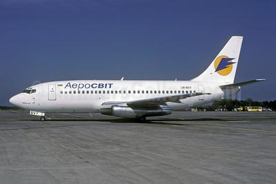 AeroSvit Airlines Boeing 737-2Q8 UR-BVY (msn 22760) KBP (Rolf Wallner). Image: 942751.