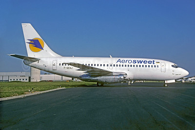 Aerosweet Airlines (AeroSvit Airlines) Boeing 737-2Q8 F-GEXJ (UR-BVY) (msn 22760) LBG (Christian Volpati). Image: 927277.