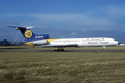 Air Ukraine Tupolev Tu-154B-2 UR-85482 (msn 81A482) PRG (Christian Volpati Collection). Image: 952437.