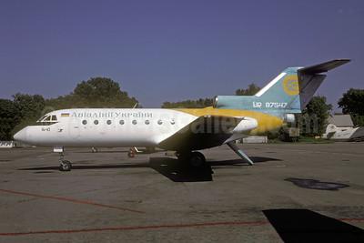 Air Ukraine Yakovlev Yak-40 UR-87547 (msn 9531242) IEV (Rolf Wallner). Image: 942757.