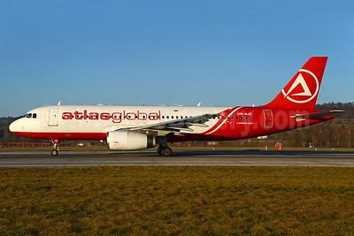 AtlasGlobal (Ukraine) Airbus A320-232 UR-AJC (msn 1663) ZRH (Rolf Wallner). Image: 936310.