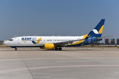 Azur Air Ukraine Boeing 737-83N WL UR-UTQ (msn 30679) AYT (Ton Jochems). Image: 954998.