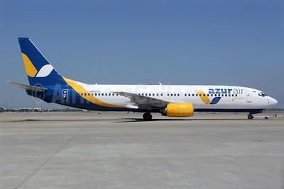 Azur Air Ukraine Boeing 737-8Q8 UR-UTP (msn 28226) AYT (Antony J. Best). Image: 939866.