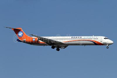 Bravo Airways (Ukraine) McDonnell Douglas DC-9-83 (MD-83) UR-COB (msn 53187) (Kam Air colors) AYT (Andi Hiltl). Image: 933727.
