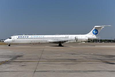 Bravo Airways (Ukraine) McDonnell Douglas DC-9-83 (MD-83) UR-CPR (msn 49946) AYT (Ton Jochems). Image: 942529.