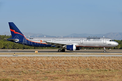 DART Ukrainian Airlines Airbus A321-211 UR-CQK (msn 2330) (Aeroflot colors) AYT (Ton Jochems). Image: 939873.