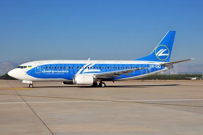 Dniproavia Boeing 737-36Q UR-DNJ (msn 28659) AYT (Ton Jochems). Image: 953926.
