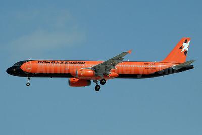 Donbassaero Airlines Airbus A321-231 UR-DAF (msn 1869) DXB (Paul Denton). Image: 921919.
