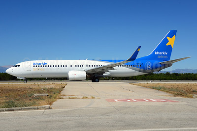 Kharkiv Airlines Boeing 737-8Q8 WL UR-CLS (msn 32841) AYT (Ton Jochems). Image: 913693.