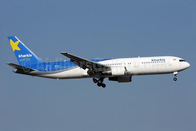 Kharkiv Airlines Boeing 767-306 ER UR-CLT (msn 26263) AYT (Antony J. Best). Image: 924217.