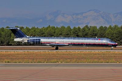 Khors Aircompany McDonnell Douglas DC-9-82 (MD-82) UR-CHJ (msn 53066) (AeroMexico colors) AYT (Ton Jochems). Image: 952915.