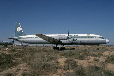 Kryla Ilyushin Il-18E UR-75850 (msn 185008503) SHJ (SPA). Image: 954370.