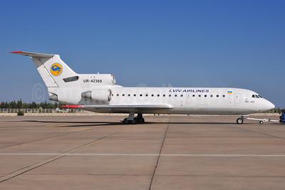 Lviv Airlines Yakovlev Yak-42D UR-42369 (msn 4520422914190) AYT (Ton Jochems). Image: 926432,