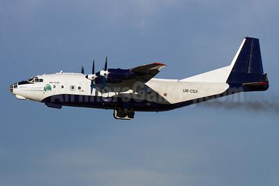 Shovkoviy Shlyah Airlines Antonov An-12BP UR-CGX (msn 5343510) MUC (Arnd Wolf). Image: 921863.
