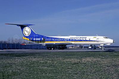 TransAGO airlines Tupolev Tu-134A-3 UR-65081 (msn 60076) KBP (Petr Populär - Jacques Guillem Collection). Image: 942433.