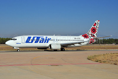 UTair Aviation (Ukraine) Boeing 737-4Q8 UR-UTG (msn 25377) AYT (Ton Jochems). Image: 906947.