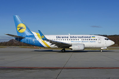 Ukraine International Airlines Boeing 737-5Y0 WL UR-GAK (msn 26075) ZRH (Rolf Wallner). Image: 921344.