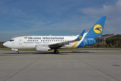 Ukraine International Airlines Boeing 737-528 WL UR-GAS (msn 25236) ZRH (Rolf Wallner). Image: 939694.