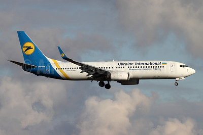 Ukraine International Airlines Boeing 737-85R WL UR-PSH (msn 29040) ZRH (Andi Hiltl). Image: 944737.