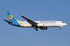 Ukraine International Airlines Boeing 737-8HX WL UR-PSA (msn 29658) AYT (Paul Denton). Image: 909036.