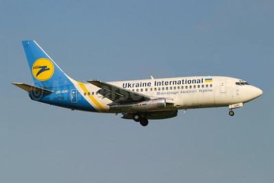 Ukraine International Airlines Boeing 737-247 UR-GAC (msn 23188) LGW (Wingnut). Image: 943966.