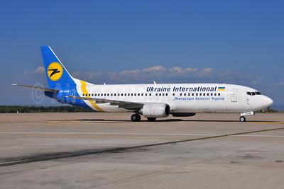 Ukraine International Airlines Boeing 737-4Y0 UR-GAM (msn 25190) AYT (Ton Jochems). Image: 953844.