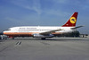 Ukraine International Airlines (Aviogenex) Boeing 737-2K3 YU-ANP (msn 23912) (Aviogenex colors) CDG (Christian Volpati). Image: 939697.