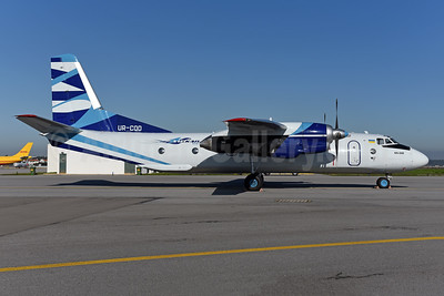 Vulkan Air (Ukraine) (Vulkanair.com) Antonov An-26B UR-CQD (msn 10101) OPO (Ton Jochems). Image: 950102.