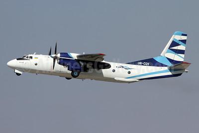 Vulkan Air (Ukraine) (Vulkanair.com) Antonov An-26B UR-CQV (msn 13306) ZRH (Andi Hiltl). Image: 950103.