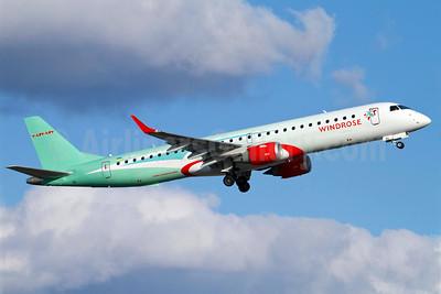 WindRose Aviation Company Embraer ERJ 190-200LR (ERJ 195) UR-WRG (msn 19000157) ARN (Stefan Sjogren). Image: 906512.